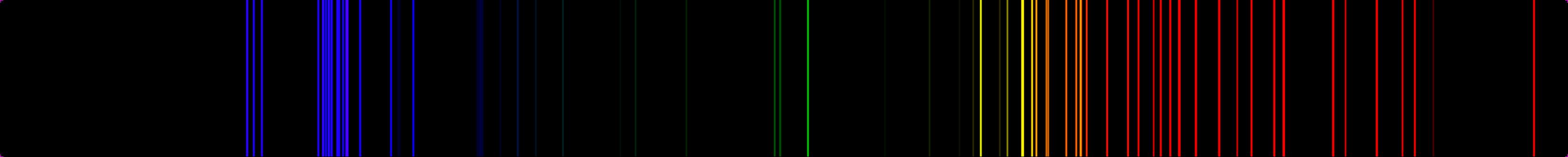 The Emission Spectra of Various Atoms for Argon Spectrum  155fiz